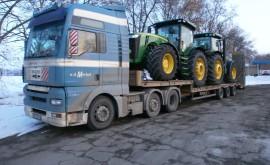 Перевезення сільськогосподарської техніки і тракторів