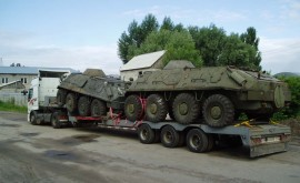 Перевезення військової техніки