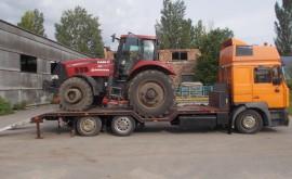 доставка трактора грузовым эвакуатором
